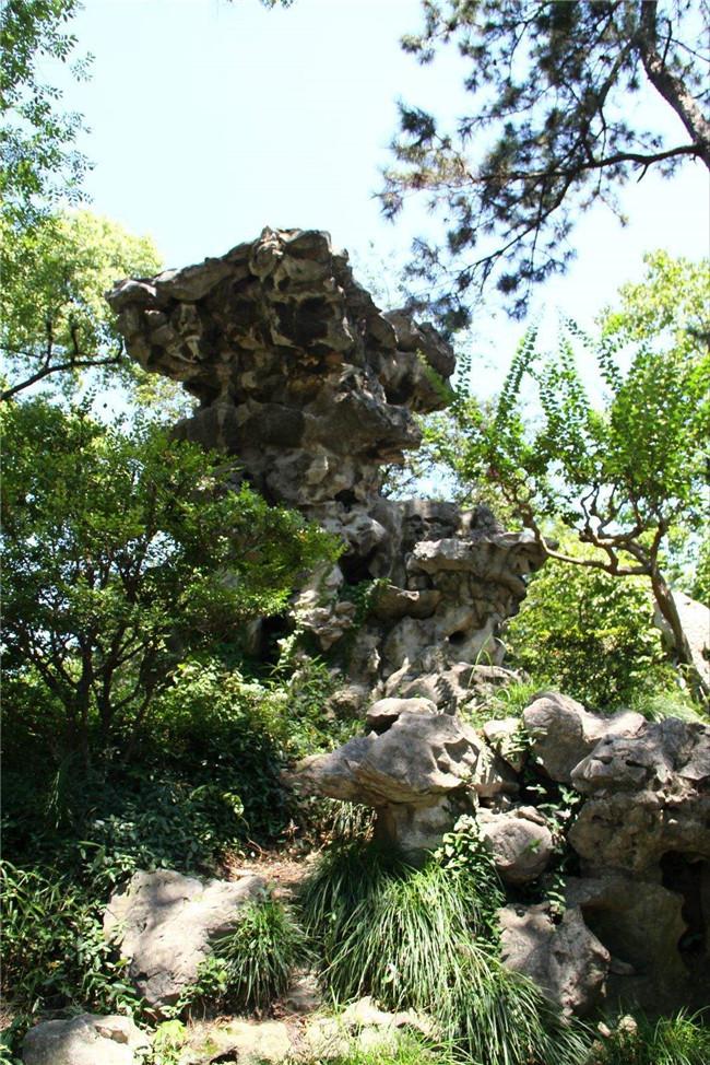 青岛假山奇石