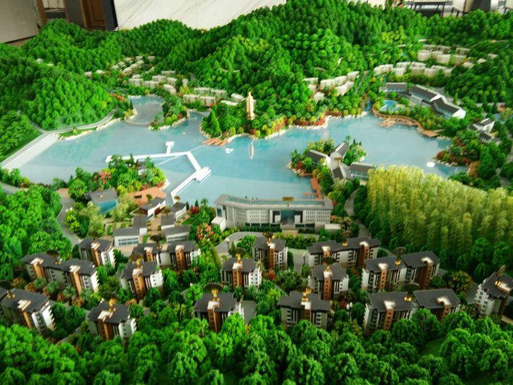 易尚国际公装 | 云丹山避暑度假小镇精装修项目