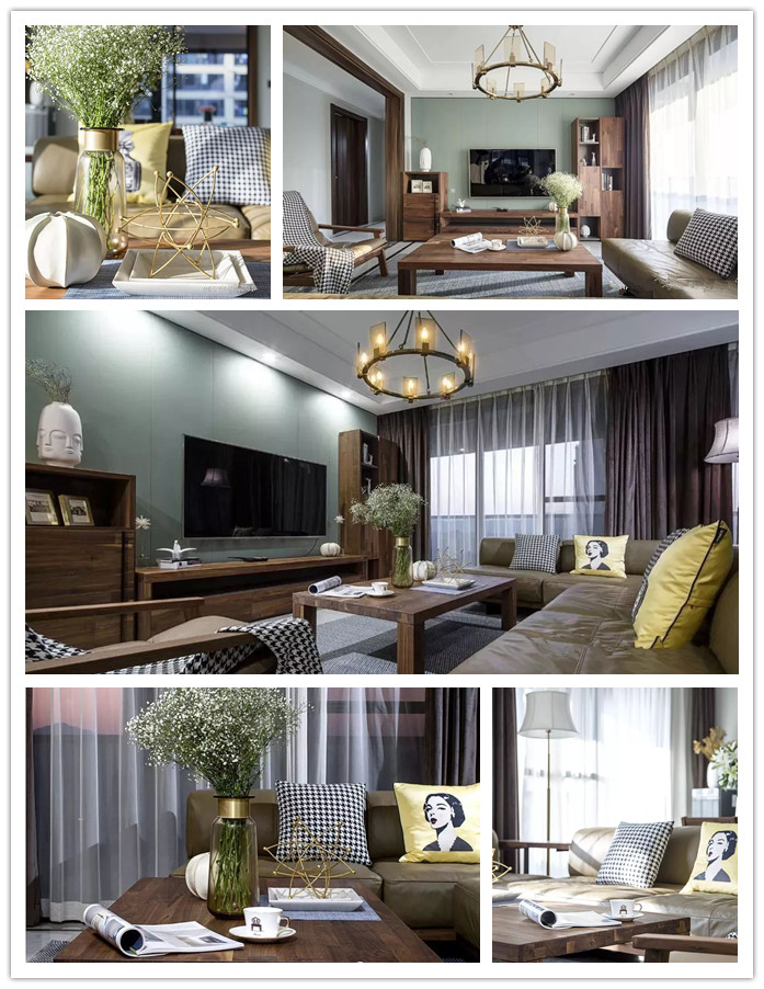 易尚国际 | 现代简约风格家装,温润舒适的清新质感