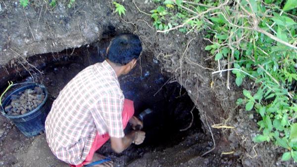 印尼花布港金礦勘查
