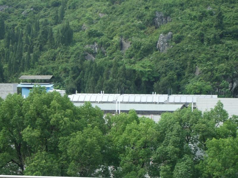 桂林第三人民醫院太陽能配空氣能熱泵熱水工程