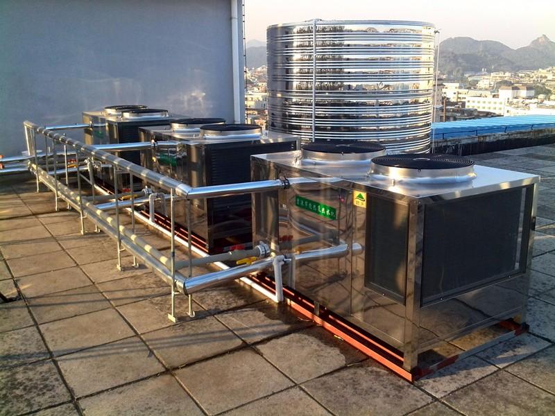 桂林冠泰大酒店空氣能熱泵熱水工程