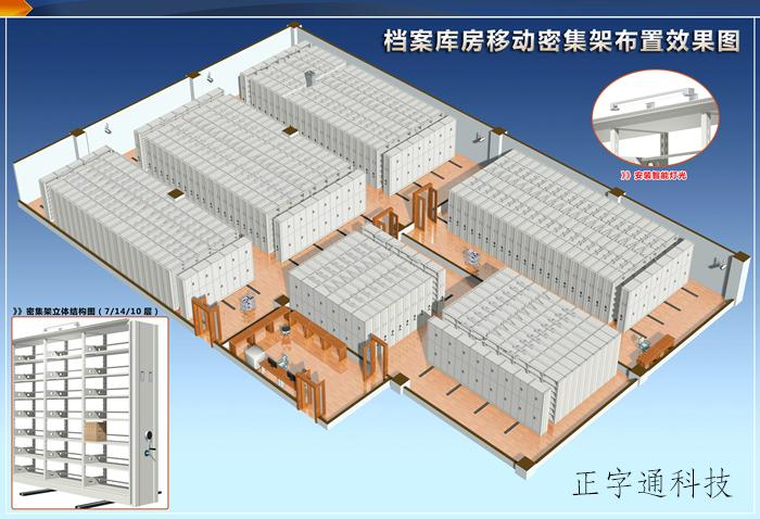 檔案庫房智能環境監控系統