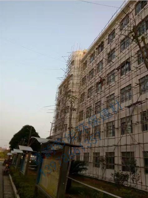 崇左隆安县城厢中学外墙翻新