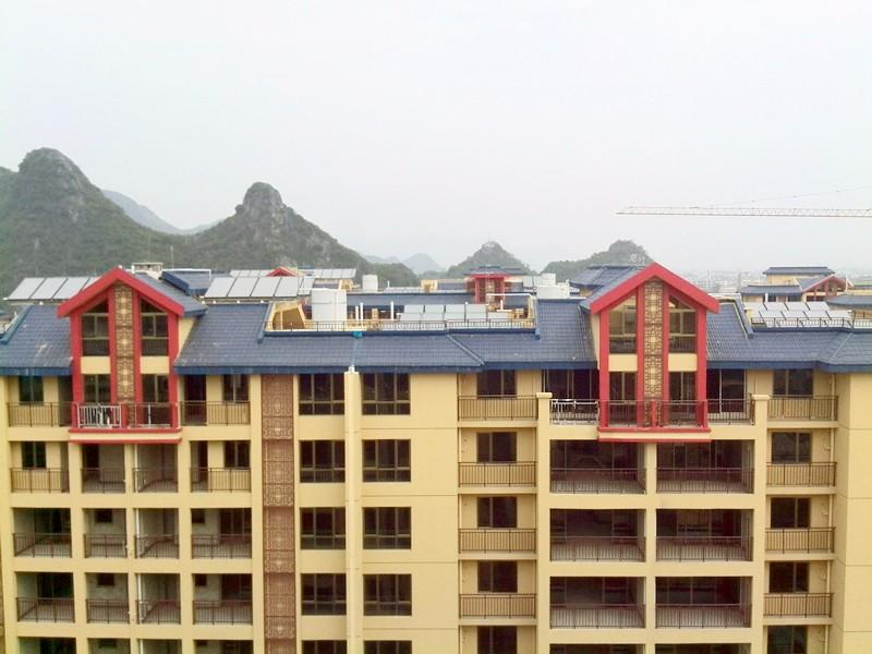 廣匯桂林郡太陽能熱水工程