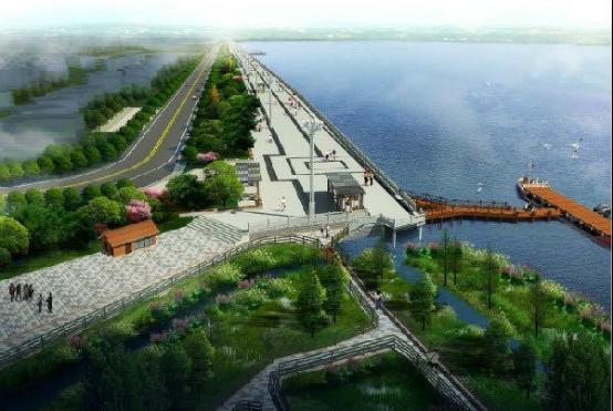 云南滇池海埂大壩工程