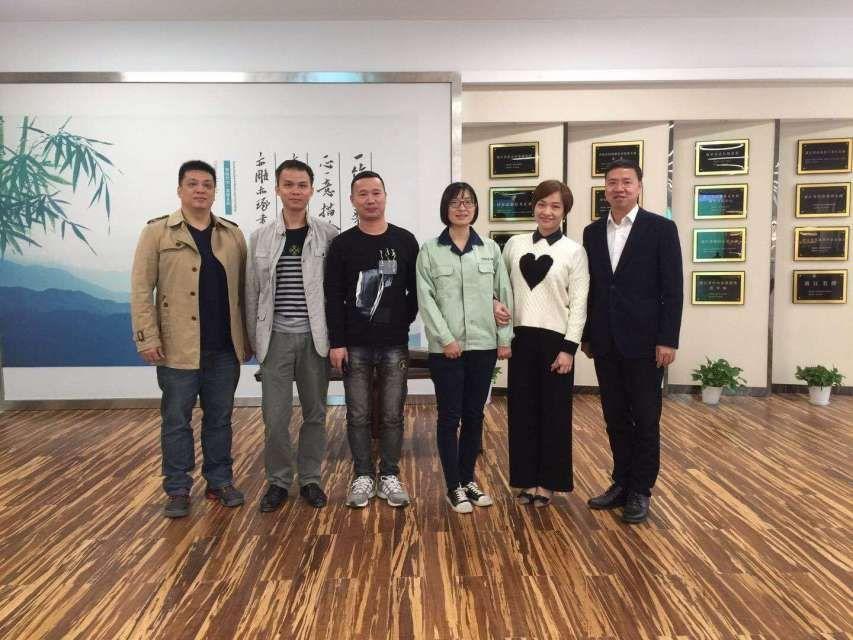 2017年10月,我司拜訪中國十大竹制品品牌企業-雙槍科技股份有限公司