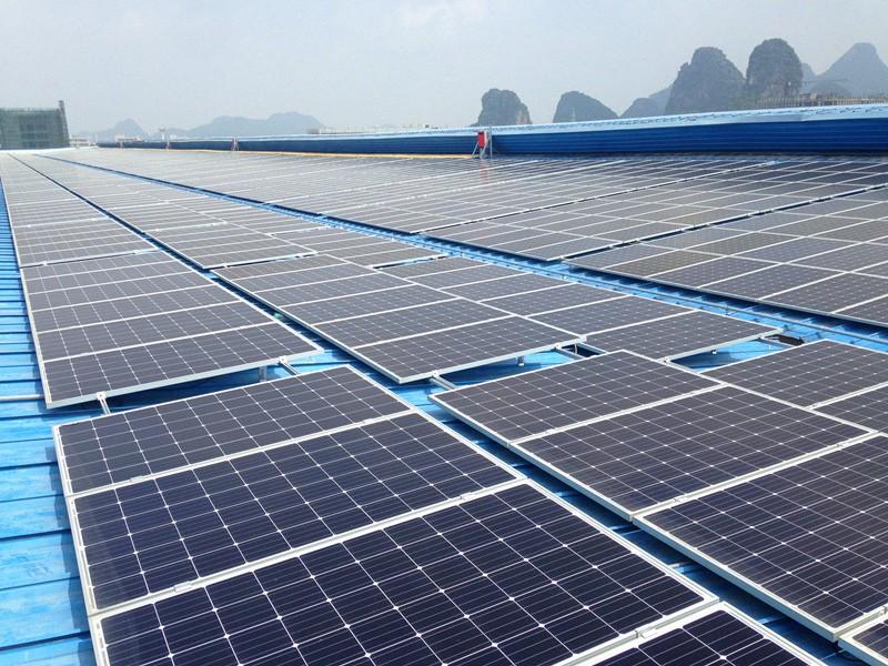 桂林國際電線電纜集團5MW光伏電站項目
