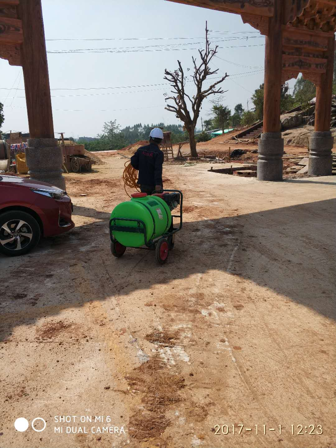 钦州新建预防白蚁