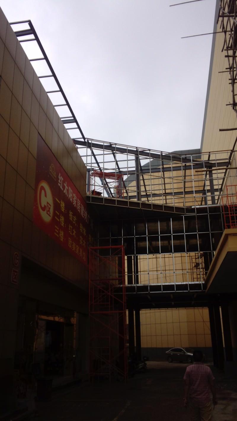 广西钢结构连廊施工厂家