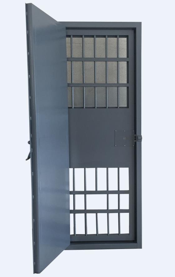 復合式雙平開監室門