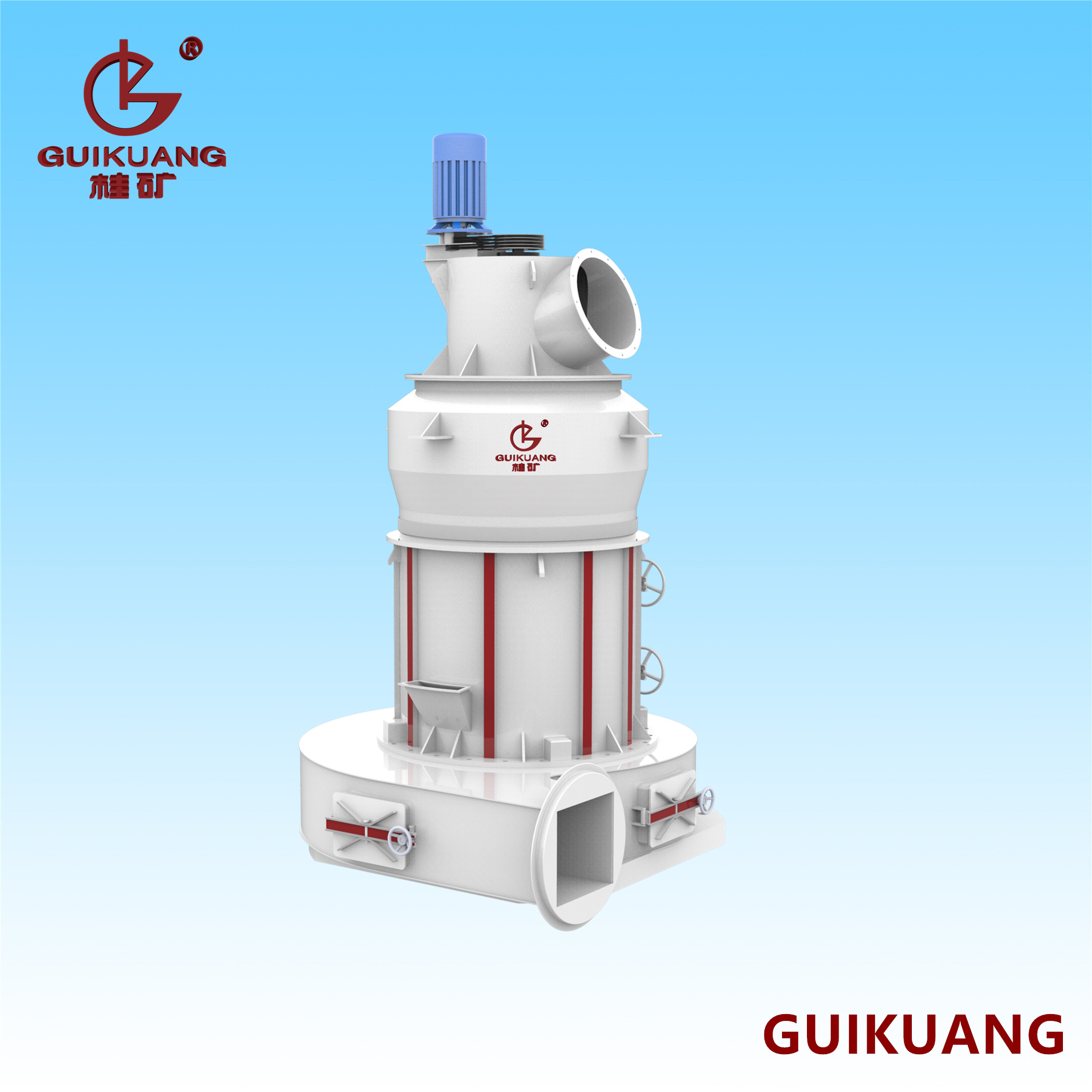 GK1620A3新型雷蒙磨粉机