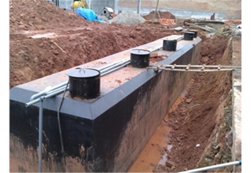 學校污水處理設備現場