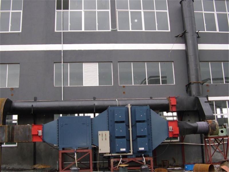 PVC輸送帶廢氣凈化回收工程