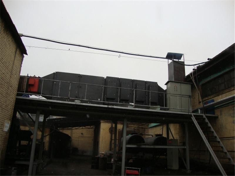 PVC塑料地板煙氣處理工程