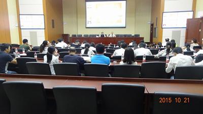 2015年廣西五建南分公文培訓