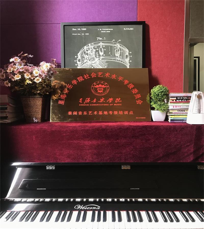 泰闹荣誉星海音乐学院考级