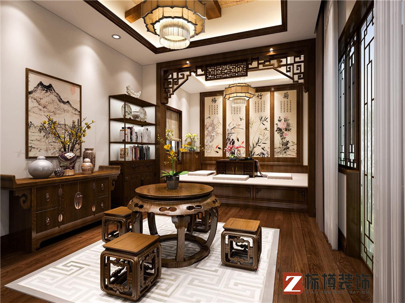 中式装饰的玄关风水怎么设计呢?