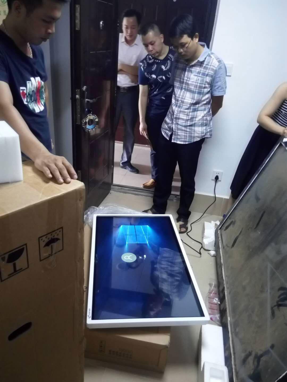 防城港南宁市七星路135号广西农业厅采用硕方触摸查询机项目
