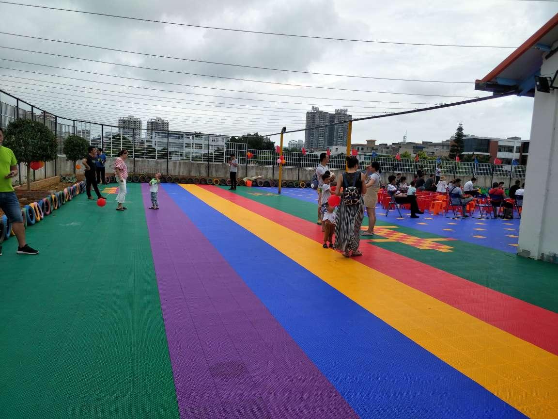 北海幼儿园悬浮地板