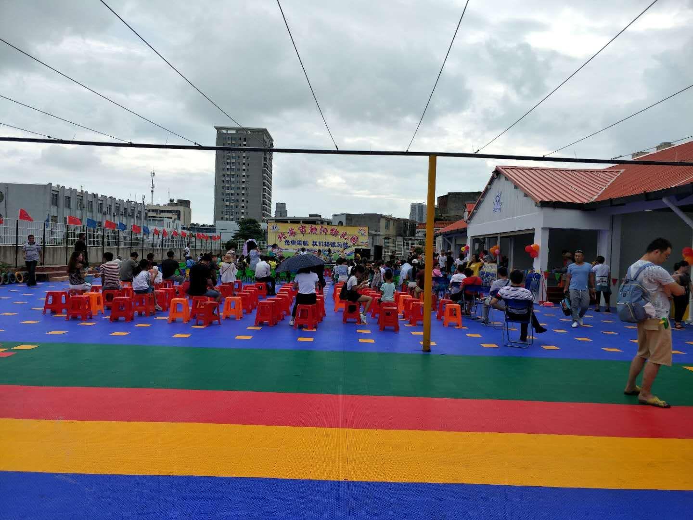 北海朝阳幼儿园悬浮地板
