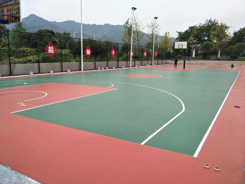 桂林兴安博物馆硅PU球场