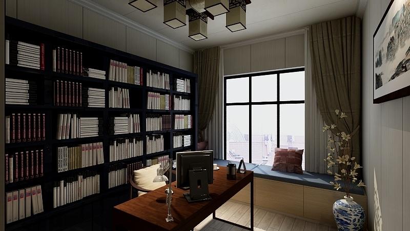 青秀区中式书房