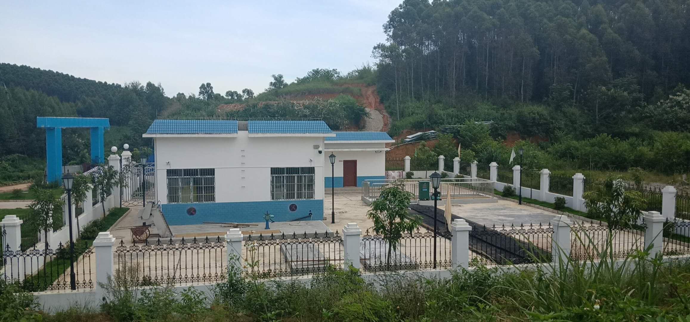 廣西上思縣叫安鎮污水處理項目