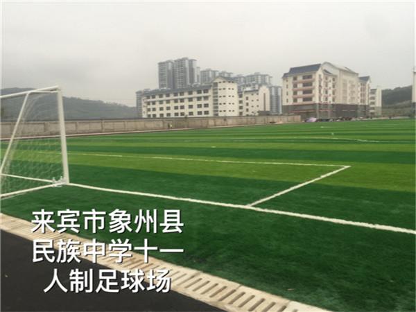 来宾市象州县民族中学十一人制足球场
