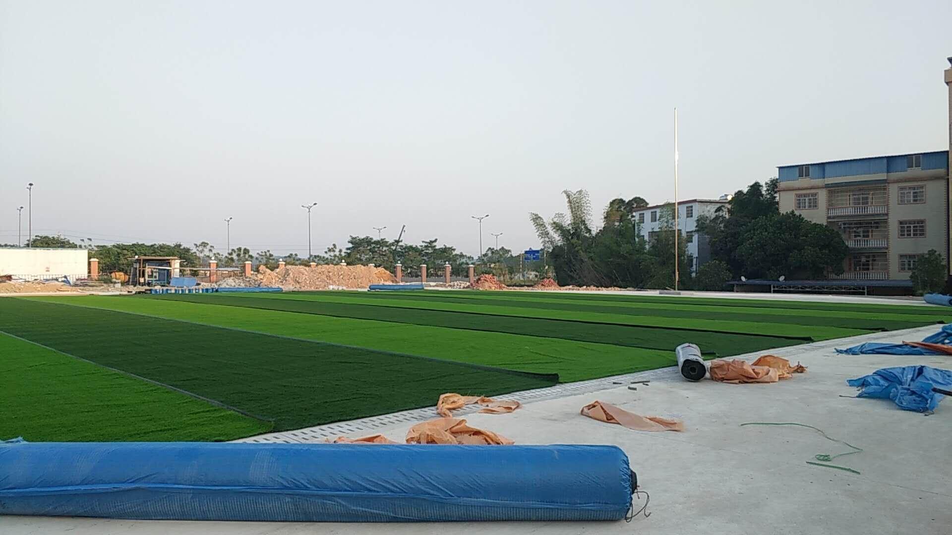 钦州中马小学人造足球场