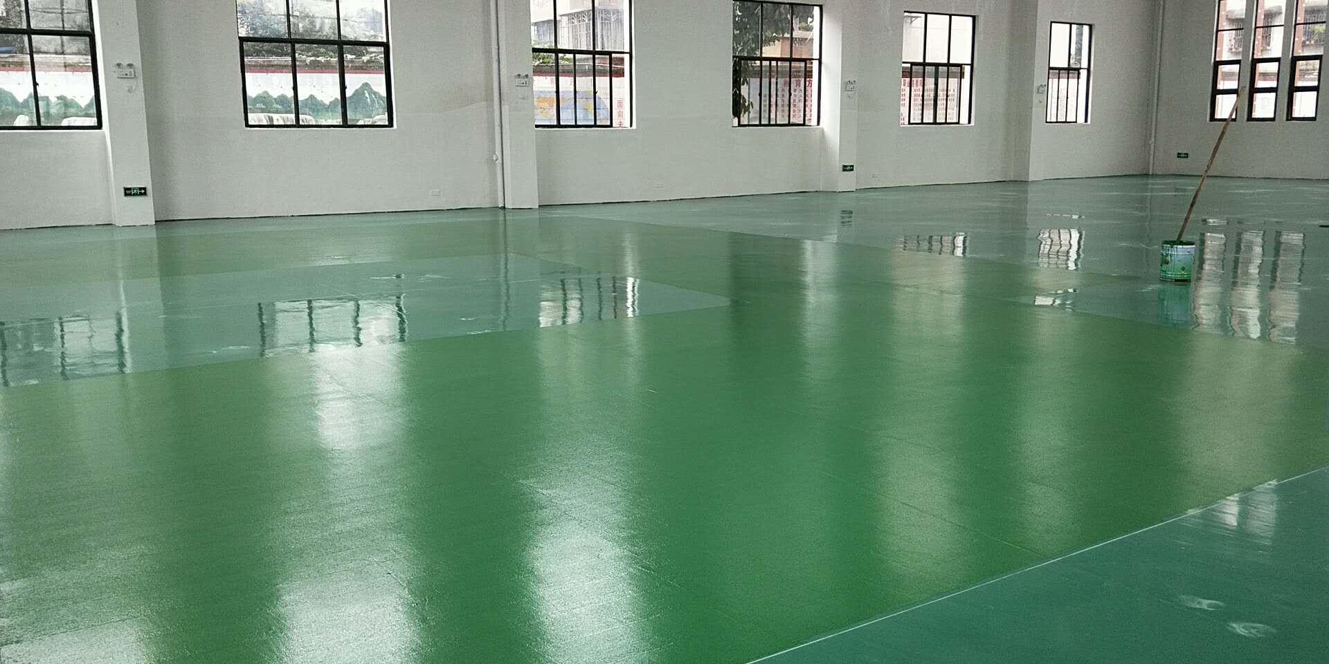 柳州三十七中硅pu 面漆施工