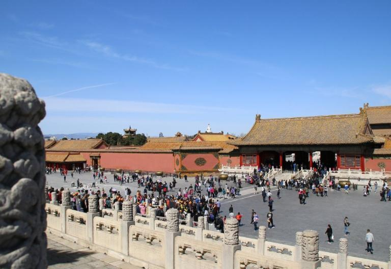 故宫游览新通道:故宫城墙实现南北贯通开放
