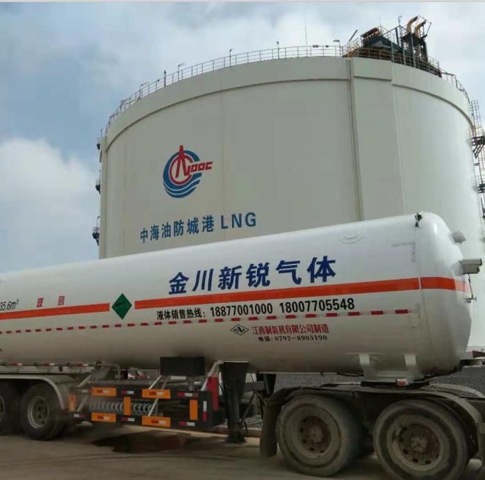 防城港中海油2×30000立LNG儲罐預冷置換項目