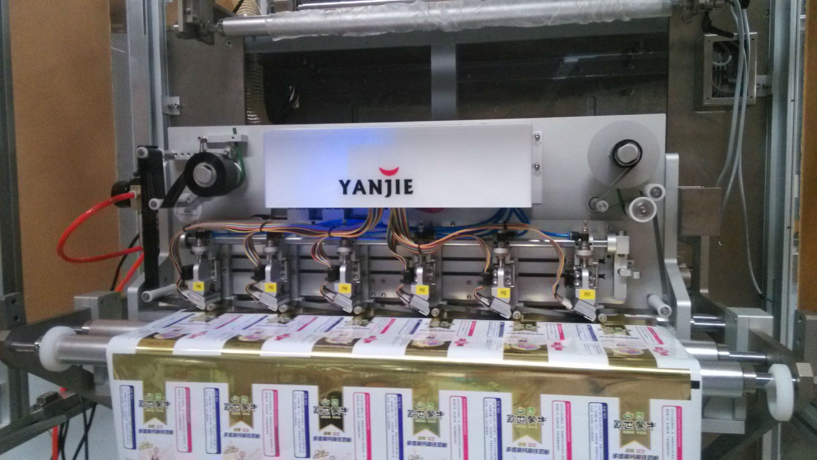 UCS多頭熱轉印打碼機