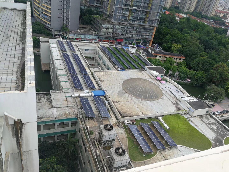 广西图书馆地方民族文献中心光伏发电项目