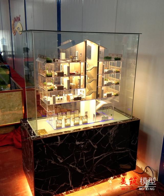 金釵商貿城戶型模型