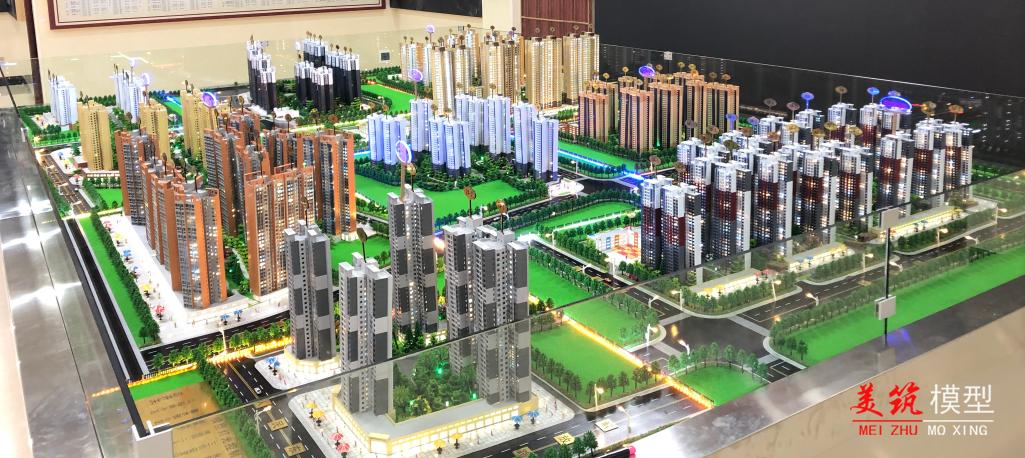 貴港安置區模型