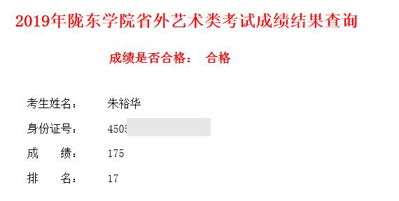 朱裕华   陇东学院   第17名
