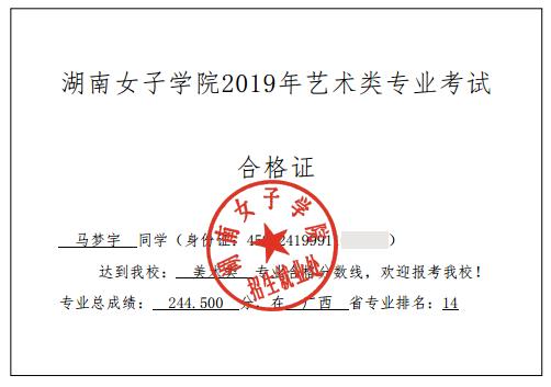 马梦宇    湖南女子学院    第14名