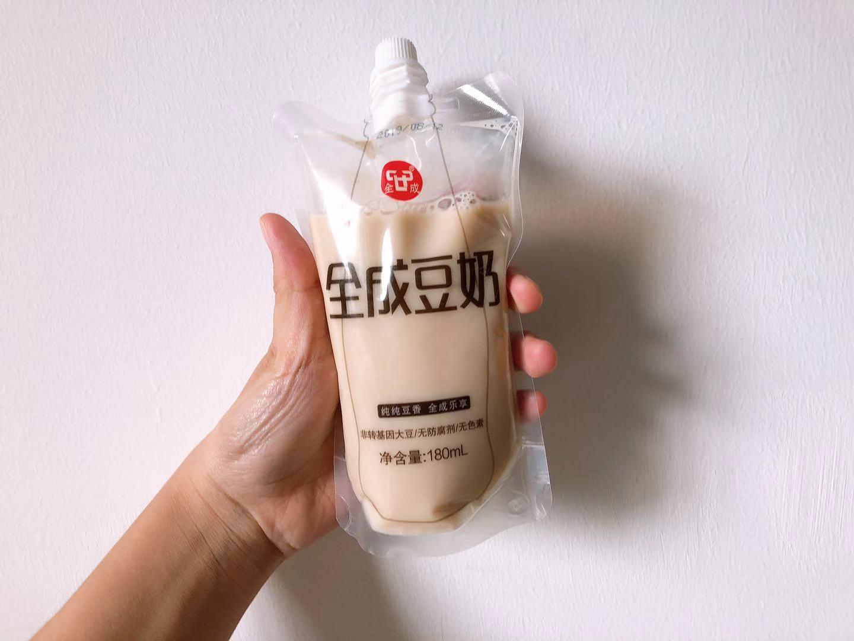 浙江全成豆奶-自立袋