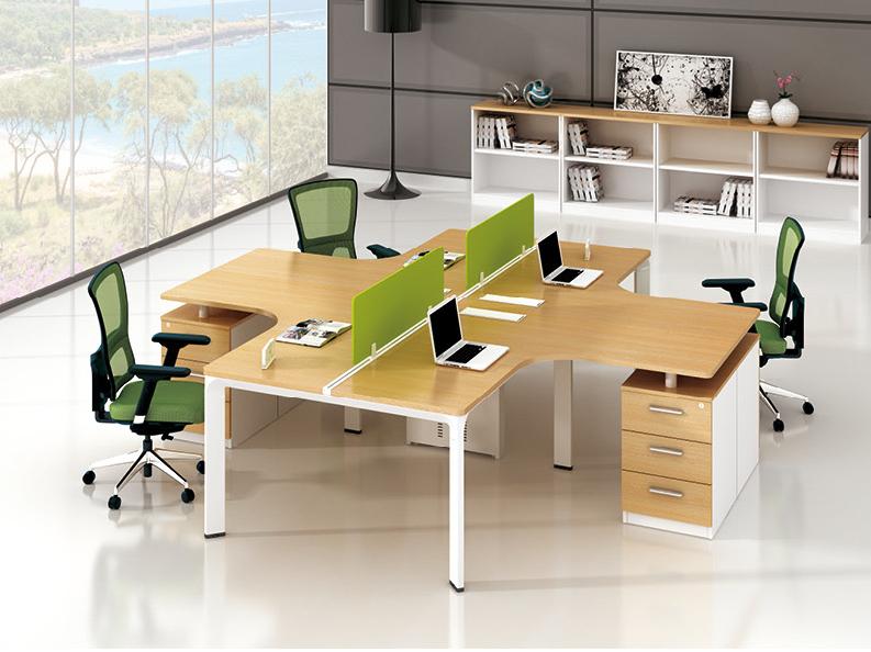 现代时尚简约职员办公桌