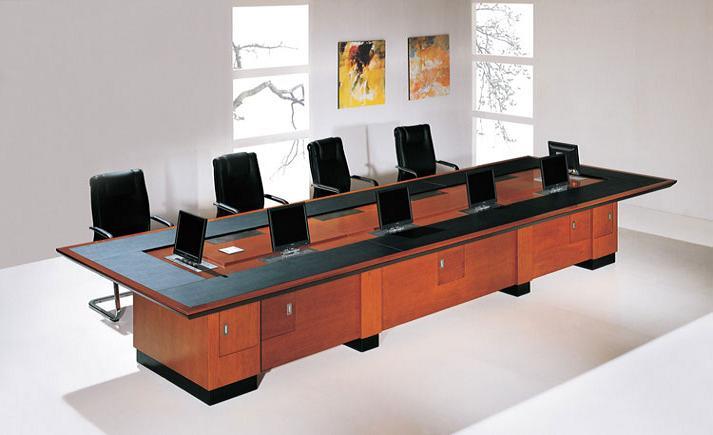 現代無紙化辦公會議桌