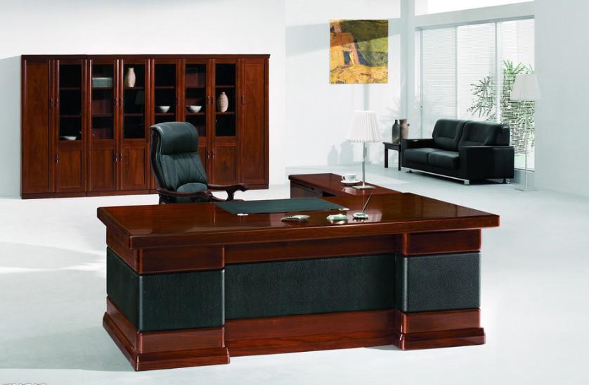 復古總裁辦公桌