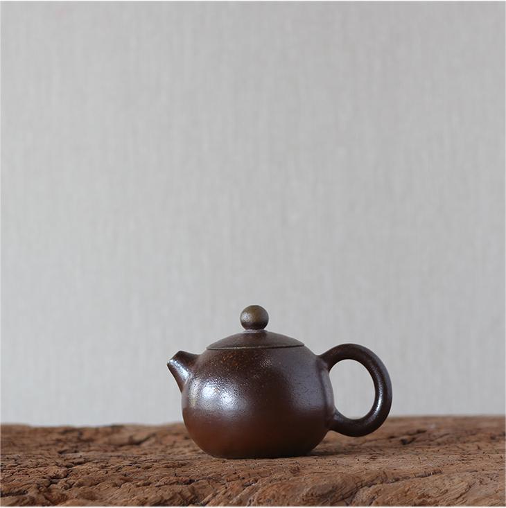 桂藝堂薪藝窯精品柴燒小西施壺¥980