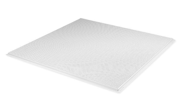 明架铝方板良好防火性能满足消防要求吸引冲孔
