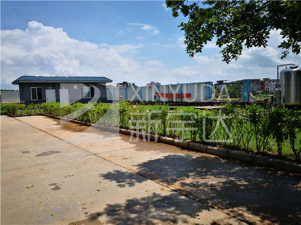 中石化貴港北服務區污水處理項目