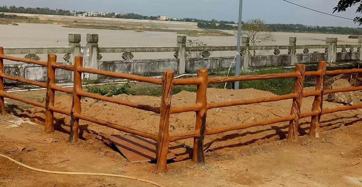 水泥仿木護欄