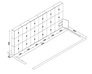 MK-DZWJG6000W定制文件柜(17000/组)