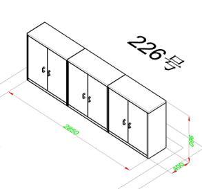 MK-DZAG01定制矮柜(6600/组)