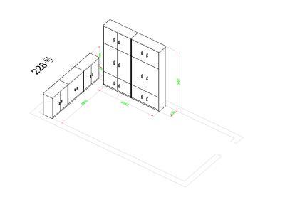 MK-DZWJGAG01定制文件柜、矮柜1(16000/组)